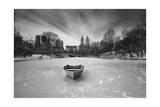 Boat in Ice  Central Park