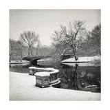 Lullwater Bridge Snow  Prospect Park