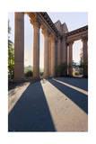 Palace of Fine Arts Columns Shadows San Francisco 2