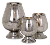 Athani Glimmer Candleholder Trio