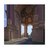 Palace of Fine Arts Columns San Francisco 4