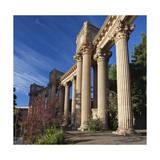 Palace of Fine Arts Columns San Francisco 3