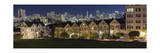 View of Painted Ladies from Alamo Square Park 2