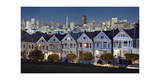 Painted Ladies Alamo Square Evening