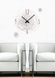 Time Swirl Clock Wall Decal