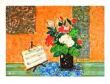 Bouquet et partition