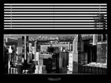 Window View with Venetian Blinds: Midtown Manhattan
