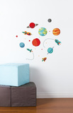 Planets Galore Wall Decal