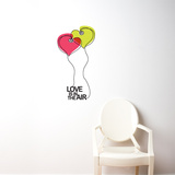 Love is in the Air Wall Decal