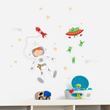 Journey into the Space Wall Decal