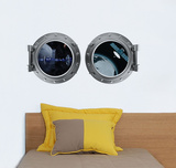 Port-Hole Wall Decal