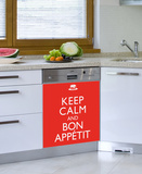 Bon Appetit Dishwasher Decal