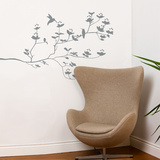 Birds & Buds Wall Decal