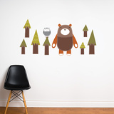Yuri the Bear Wall Decal