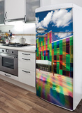 The Palace of Colours Refrigerator Decal