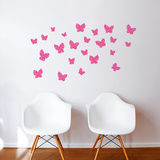 Minna (pink) Wall Decal