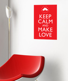 Make Love Wall Decal