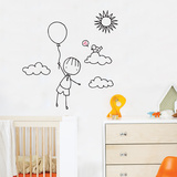 Up  Up Away Wall Decal