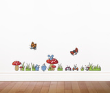 Mice and Ladybugs Wall Decal