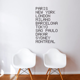 Airport Wall Decal