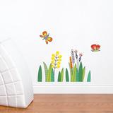 Butterflies in the Grass Wall Decal