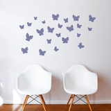 Minna (plum) Wall Decal
