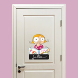 Door Sign - Girl Wall Decal