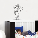 Ahoy  Mateys! Wall Decal