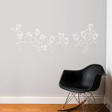 Korall Flowers Wall Decal