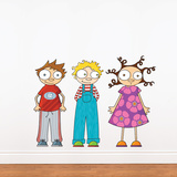 Eliot  Ludo & Lou Wall Decal