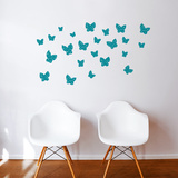 Minna (green) Wall Decal