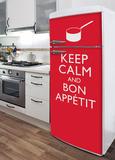 Bon Appetit Refrigerator Decal