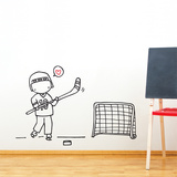 Star Player Wall Decal