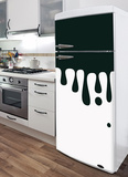 Droplets Refrigerator Decal