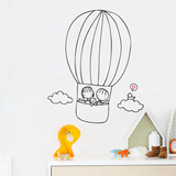 Off We Go Wall Decal
