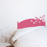 Butterflies by Night - Pink Wall Decal