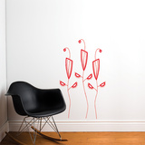 Cactus Flowers Wall Decal