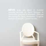 R (french) Wall Decal