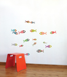 Small Fish Wall Decal