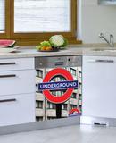 London Underground Dishwasher Decal