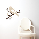 Grosbeak (brown) Wall Decal