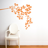 Coastline Blossoms Wall Decal
