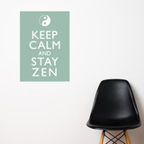 Stay Zen Wall Decal