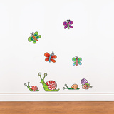 Snails (mini) Wall Decal