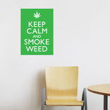 Smoke Weed Wall Decal
