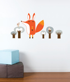 Paolo the Fox Wall Decal