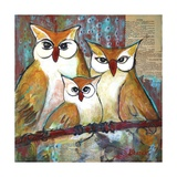 Owl Family Portrait