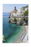 Beach at the Amalfi Coast  Amalfi  Italy