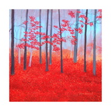 Red Forest Morning