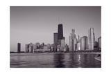 Chicago Morning BW